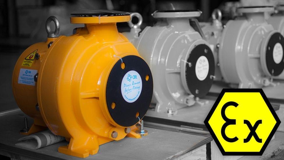 Cdr Pumps Carry Atex Certification Cdr Pumps
