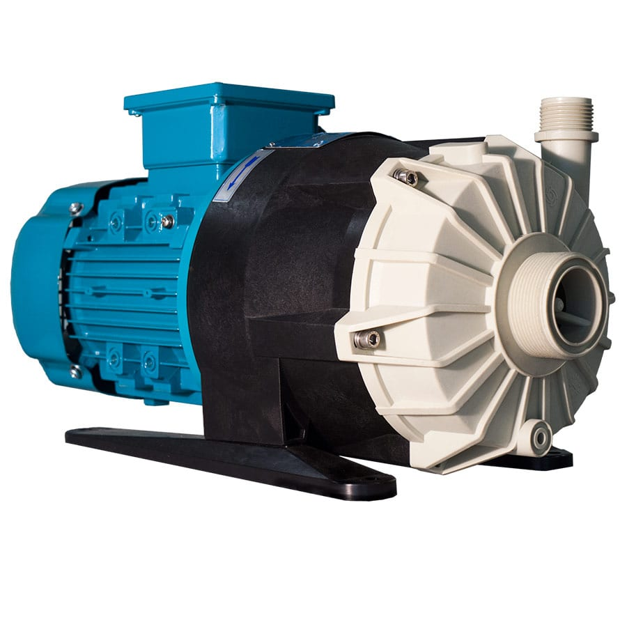 The all plastic STN mag drive pump by CDR Pumps
