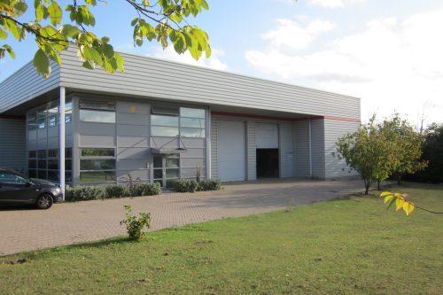 CDR Pumps building - Wellingborough