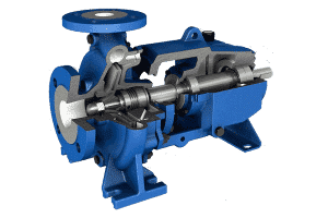 Mechanically sealed centrifugal pumps available in Super Duplex and Hastelloy C
