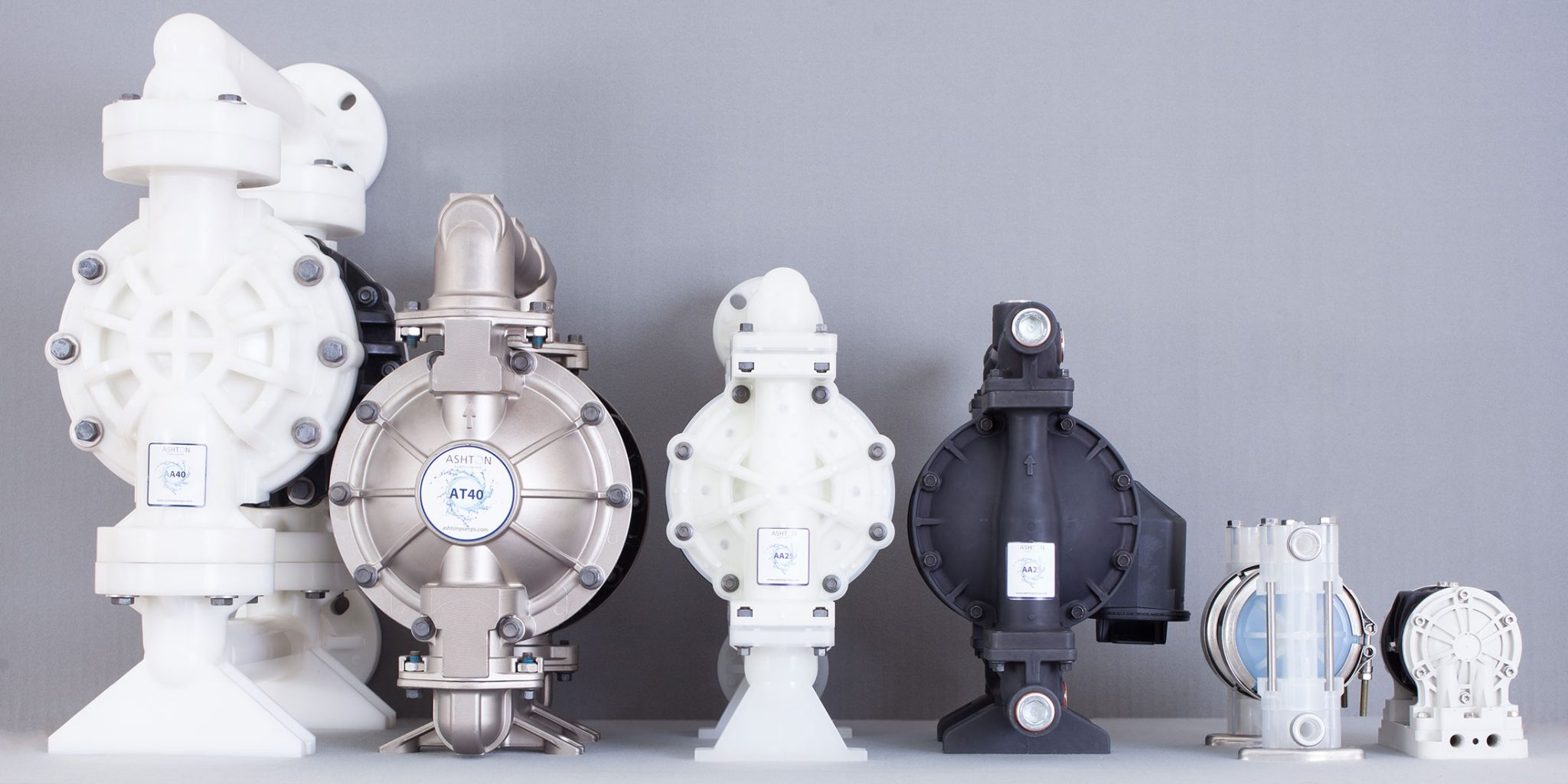 Air Operated Diaphragm Pumps by CDR Pumps UK) Ltd and Ashton Pumps