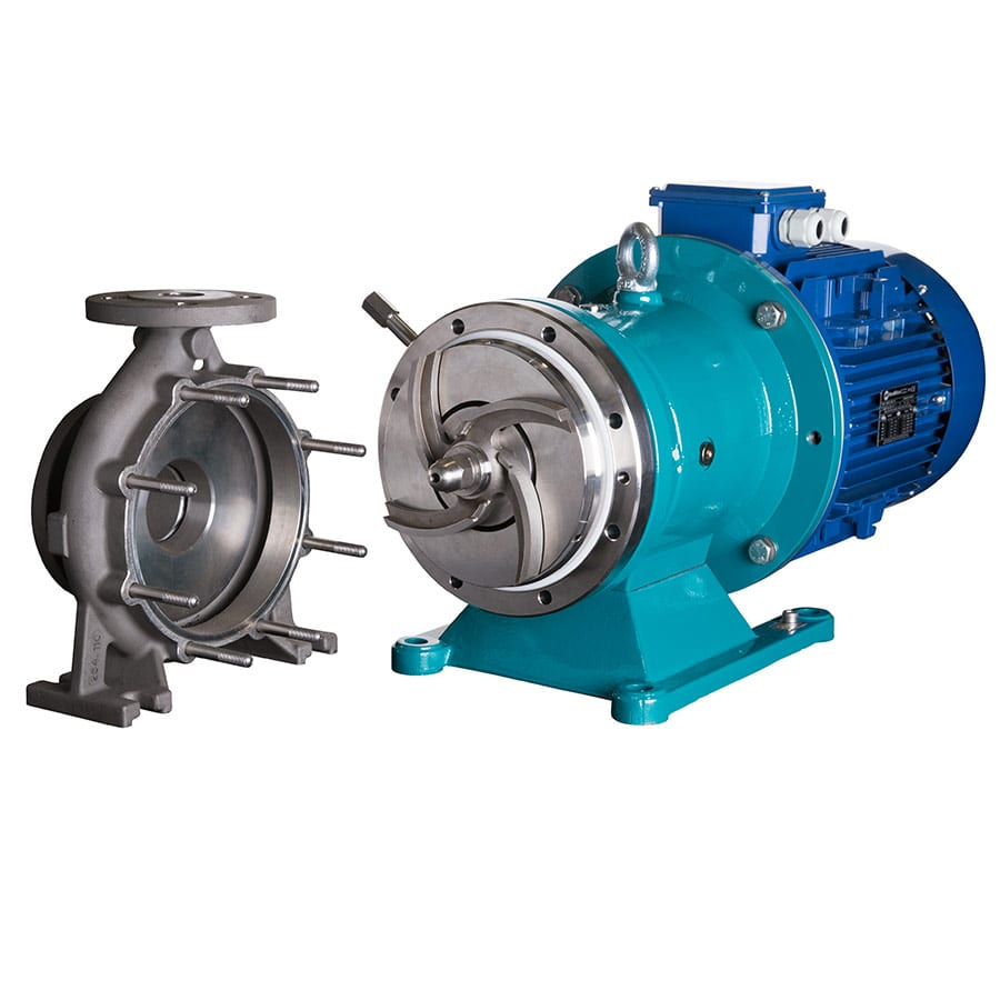 XTS Mag drive pump. The FIRST solids handling magnetic drive pump on the market